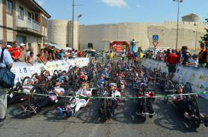 Segovia Road Race start